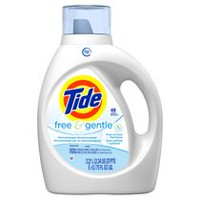 Détergent à lessive liquide Tide HE Turbo Clean, Free and Gentle