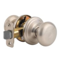 Weiser Colonial Knob Passage Satin Nickel