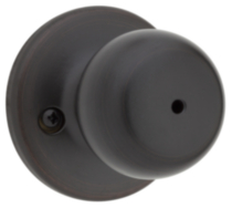 Weiser Colonial Knob (Privacy) - Venetian Bronze