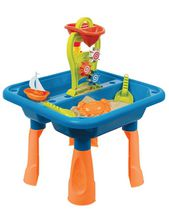 Play Day Sand And Water Table Outdoor Toys 16 Pieces