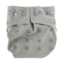Bumkins -Snap in One Diaper -  Gray