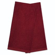 Home trends, 2-pack terry kitchen towels Red