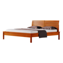 Quagga Designs Baden Bed Cherry King
