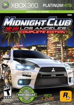 MIDNIGHT CLUB LA COMPLETE XBOX 360