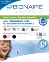 "Bionaire Elite Allergen Furnace Filter, 16""x25"" - BFFEA-1625A"