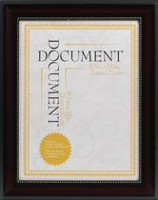 hometrends Harrison Document Frame 8.5x11 inch opening
