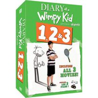 Diary Of A Wimpy Kid 1, 2 & 3: Diary Of A Wimpy KidDiary Of A Wimpy Kid: Rodrick RulesDiary Of A Wimpy Kid: Dog Days (Bilingual)