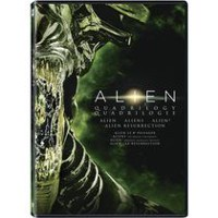 Film Alien Quadrilogy: Alien / Aliens / Alien 3 / Alien: Resurrection (Bilingual)