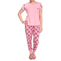 Disney Ladies' 24096 Licensed 2 Piece Short Sleeve Pyjama Set M