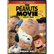 The Peanuts Movie (DVD + Digital HD) (Bilingual)
