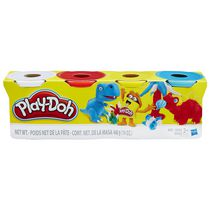 Play-Doh 4-Pack of Classic Colours