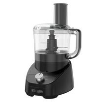 Black + Decker 3-in-1 Easy Assembly 8-Cup Food Processor