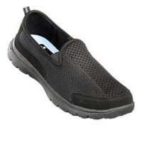 Athletic Works Women's Variety Athletic Slip-On Shoe Black 10