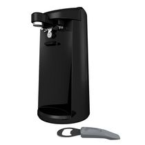 Black + Decker Extra-Tall Can Opener with Knife Sharpener and Bottle Opener