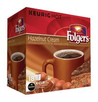 Folgers Hazelnut Cream K-Cup Coffee Pods