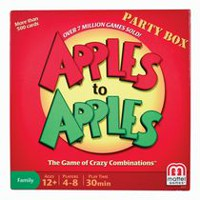 Coffret de jeu Apples To Apples, version anglaise