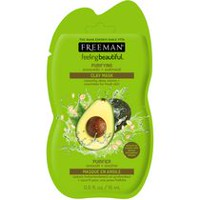 Freeman Feeling Beautiful Avocado & Oatmeal Facial Clay Mask Sachet