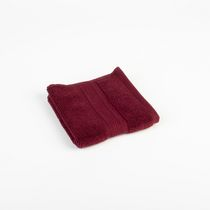 "Springmaid 13"" x 13"" Wash Cloth Towel Burgundy"
