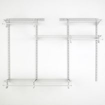 Organisateur de garde-robe ShelfTrack de ClosetMaid 121,9 à 182,9 cm