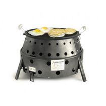 Volcano Reversible Cast Iron Grill & Skillet
