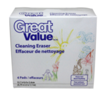 Great Value Cleaning Eraser