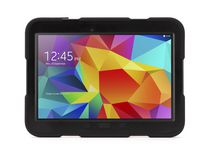 Griffin Survivor All-Terrain Rugged Case + Stand for Galaxy Tab 4 10.1 - Black