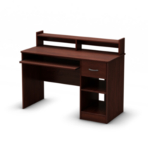 South Shore Smart Basics Desk Royal Cherry