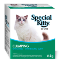 Special Kitty Clumping Unscented with Baking Soda Cat Litter
