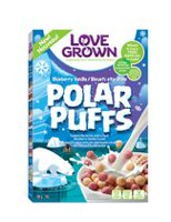 Love Grown Polar Puffs Blueberry Vanilla Cereal