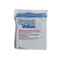 Great Value All Purpose Scrub Sponges