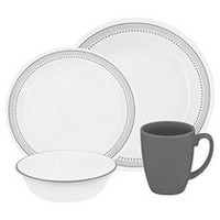Corelle® Mystic Grey Dinnerware Set 16pc
