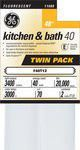 General Electric Kitchen & Bath 40W T12 Soft White Flourescent Tube - Pack of 2