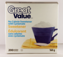 Great Value Cyclamate, 160 g