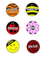 French Stickers