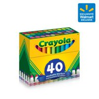 Crayola Ultra Clean Washable Broad Line Markers