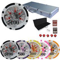 Benjamin Franklin Poker chips set 14gr 500pcs