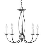 Home Basics 5-Light Plantinize Chandelier