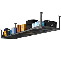 NewAge Versarac 4'x8' Adjustable Overhead Rack Grey