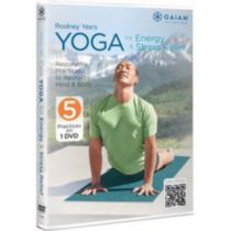 Rodney Yee's Yoga for Energy and Stress Releif - DVD