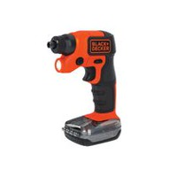 Black & Decker BDCSFS30C 4V Max Cordless Scrwedriver with Storage Pack + LED Light