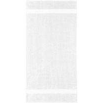 Safdie & Co. Bath Towel Dobby Border 10PC White