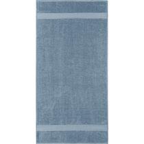 Safdie & Co. Bath Towel Dobby Border 10PC Blue