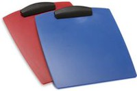 Storex Hard Poly Clipboard