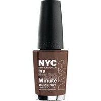 NYC New York Color In A New York Minute Nail Color Brownstone