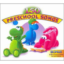 Artistes Variés - 150 Preschool Songs