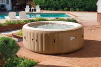 "Intex PureSpa™ Bubble Massage 77"" Round Above Ground Portable Spa Set"