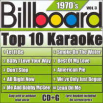 Sybersound - Billboard Top 10 Karaoke: 1970's, Vol.3