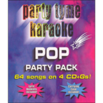 Sybersound - Party Time Karaoke: Pop Party Pack (4CD)