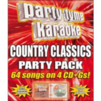 Sybersound - Party Tyme Karaoke: Country Classics Party Pack (4CD)