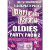 Sybersound - Party Tyme Karaoke: Oldies Party Pack 2 (4CD)